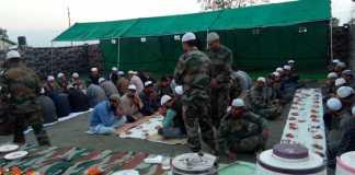 जम्मू कश्मीर में सौहार्द और शांति के लिये