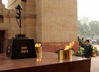 शहीदों के परिवार का सम्मान