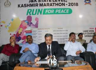 """J&K Police to organize""""Run for Peace"""""""