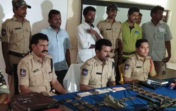 सीआरपीएफ और तेलंगाना पुलिस का आपरेशन