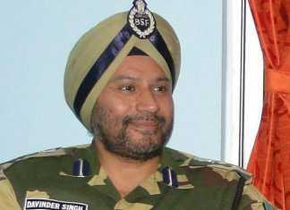 कमांडेंट दविंदर सिंह