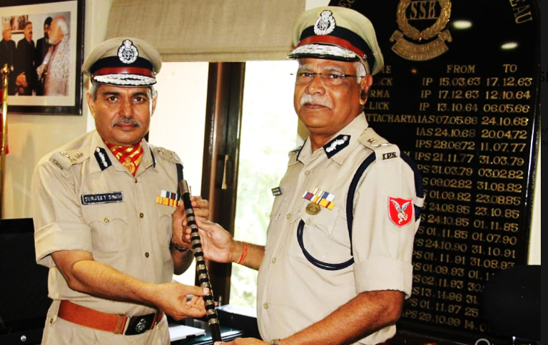 Haryana Cadre IPS officer S S Deswal took over as DG of SSB