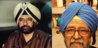 रिटायर्ड आईपीएस अधिकारी सरदार प्रकाश सिंह