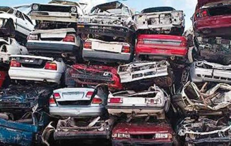 वाहन स्क्रैपिंग नीति